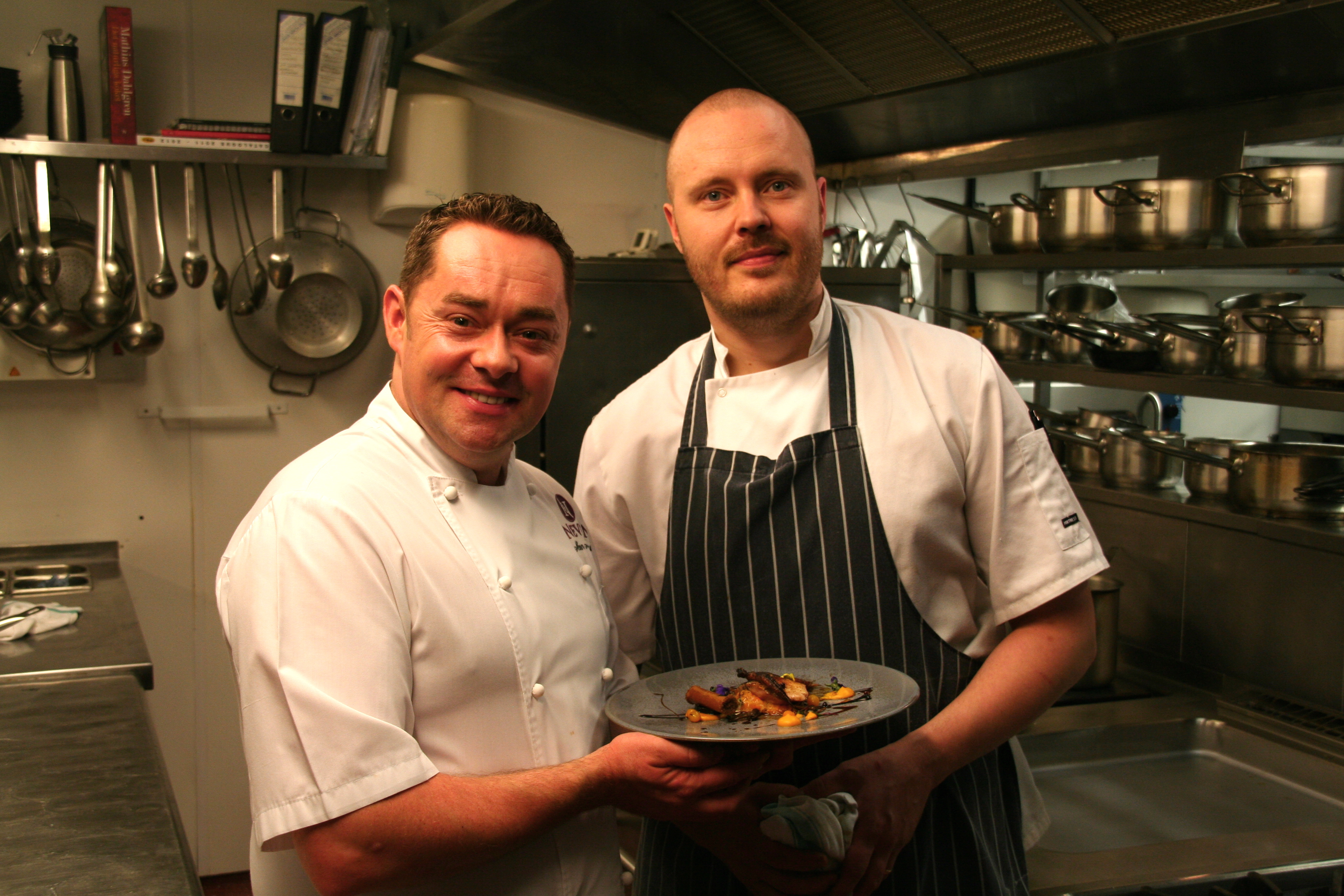 The greenhouse restaurant dublin -  17 Neven Maguire Home Chef Wednesday 24th April Neven And Mickael