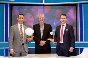 The Sunday Game - Eamonn O'Hara, Michael Lyster and Donal Og Cusack