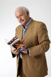 Marty Whelan with opera book