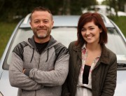 Eric Lalor and Eva Jane Gaffney from The Commute