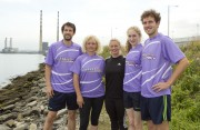 Ireland's Fittest Family Nikki Symmons wioth the O'Reilly Family