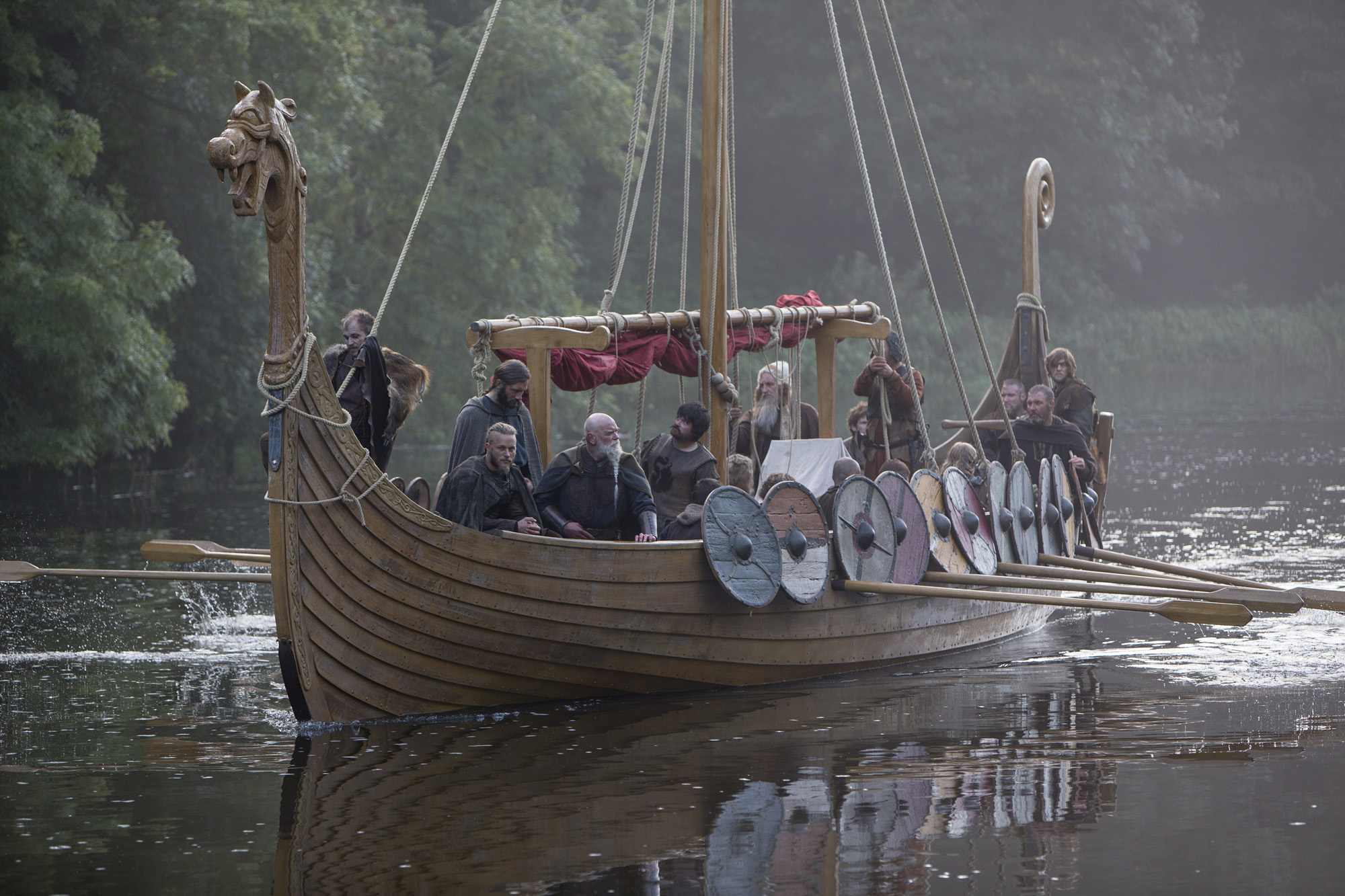 dendrochronological dating of the viking age ship
