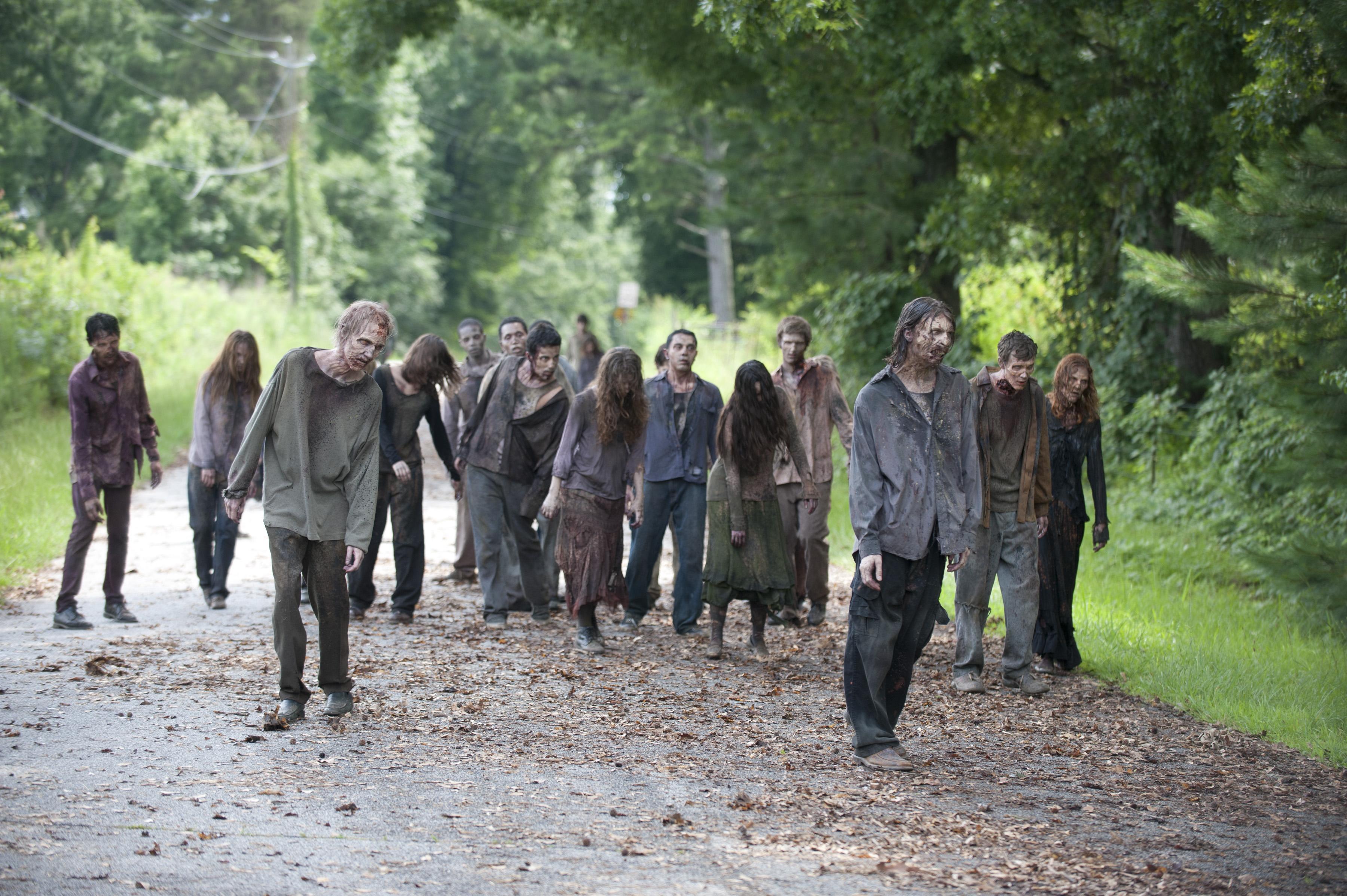 The Walking Dead Celebrity Zombies: Will Ferrell, Emma ...