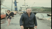 Scannal Whiddy Island John Connolly with Reporter, Mary McAleese, from an RTE Frontline documentary