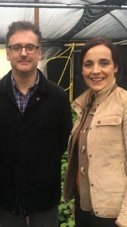 (02)Ear to the Ground programme 10, Thursday Jan 10th. Presenter Ella McSweeney and Dr.Sean Kitson(Wasabi story)
