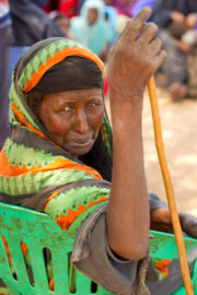 A Somali internally displaced woman in Luuq close to the Ethiopian and Kenyan border - What In The World - Series 12, Ep 1 Somalia
