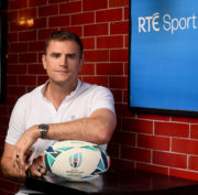 Jamie Heaslip RTÉ Sport Rugby World Cup 2019 Launch