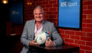 Brent Pope RTÉ Sport Rugby World Cup 2019 Launch
