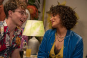 The South Westerlies Ep 5 - Conor (Sam Barrett) and Poppy (Lily Nichol) enjoy the party
